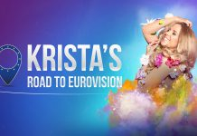 Krista's road to Eurovison Key Artwork