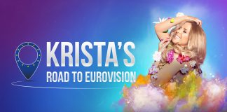 Krista's road to Eurovison Key Artwork
